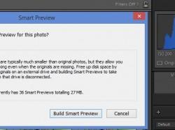 Photoshop Lightroom: Intelligens előnézet