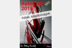 AutoCAD 2015 - Fóliák, tulajdonságok (magyar)