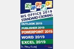 Microsoft Office 2019 Standard sorozat (angol verzió)